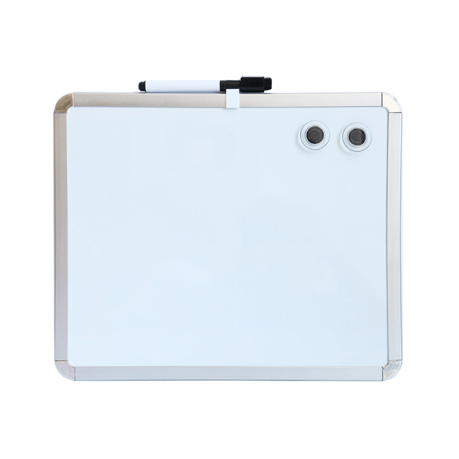 Office School Supplies Plastic Frame with sliver Color Magnetic Whiteboard Price Portable Interactive Whiteboard