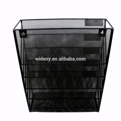 Wideny Office supplies school home household wire metal mesh wall mounted hanging file organizer for office holder