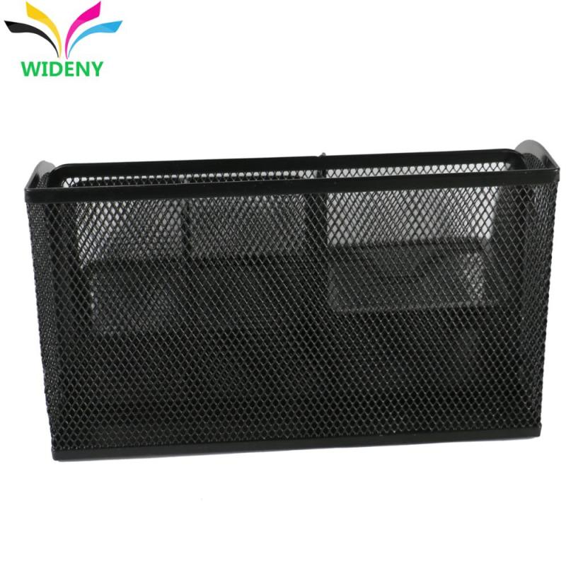 OEM design powder coated mesh wire metal steel table tray office desk organizer