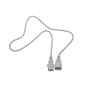 10A 250V IEC C13 to C14 power cord white connector cable  18awg power extension cord power cord