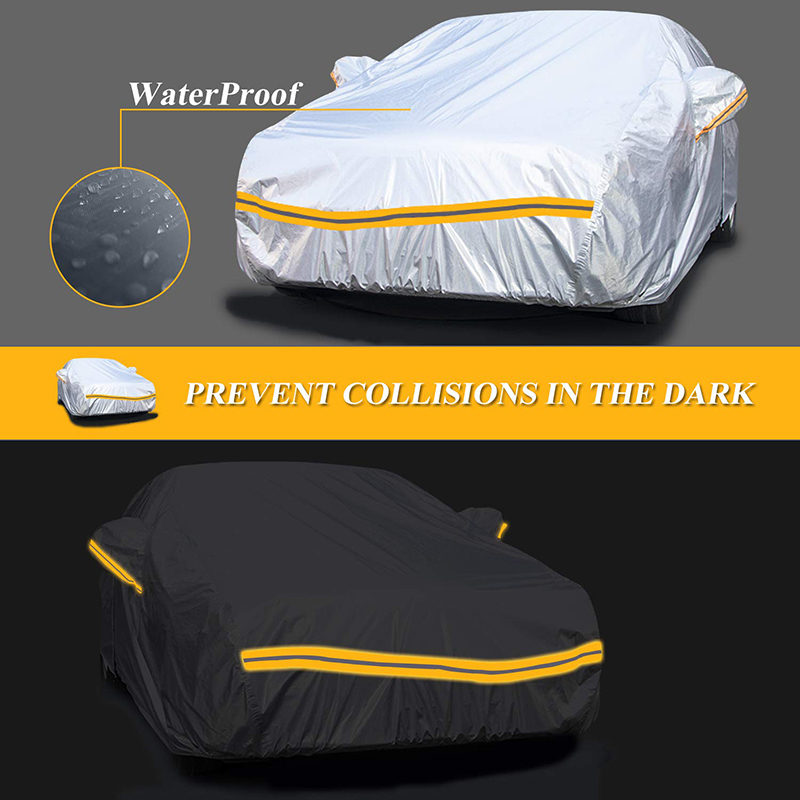 Ten sizes and models cover car choose 3 layers  Excellent Material car cover  waterproof car cover body