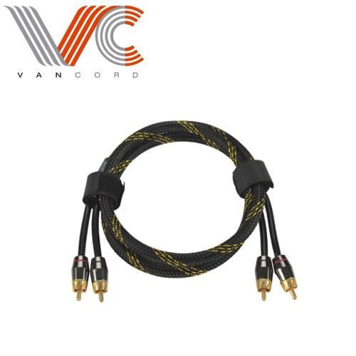 RCA Cable,2RCA Male to 2RCA Male Audio Cable Gold-Plated Compatible with Speaker, AMP, Turntable, Receiver, Home Theater,