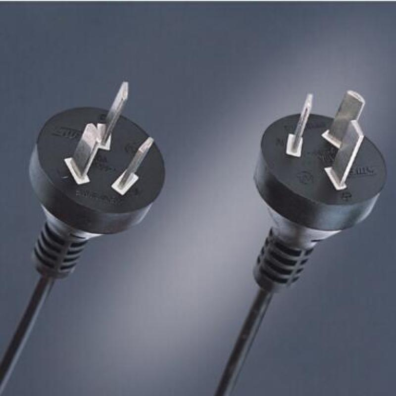 10A 250V 3 pole plug AC power cord