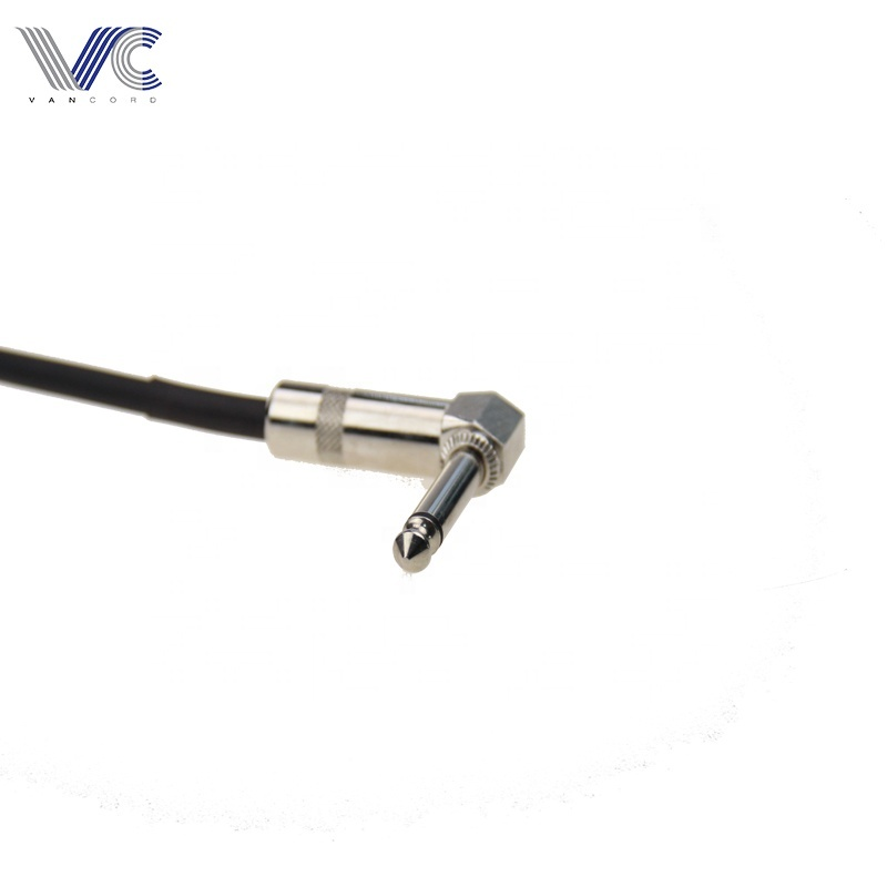 6.35mm guitar cable instrument guitar patch cable electronic guitar cable