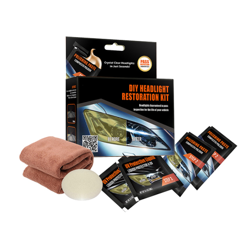 Factory Price Color Box Auto -DIY Car Headlight Restoration Kit,Car Headlight Repair Tool