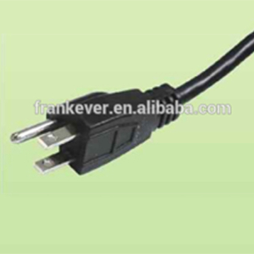 Japanese 7A/12A/15A 125V Power Cord with three pins plug