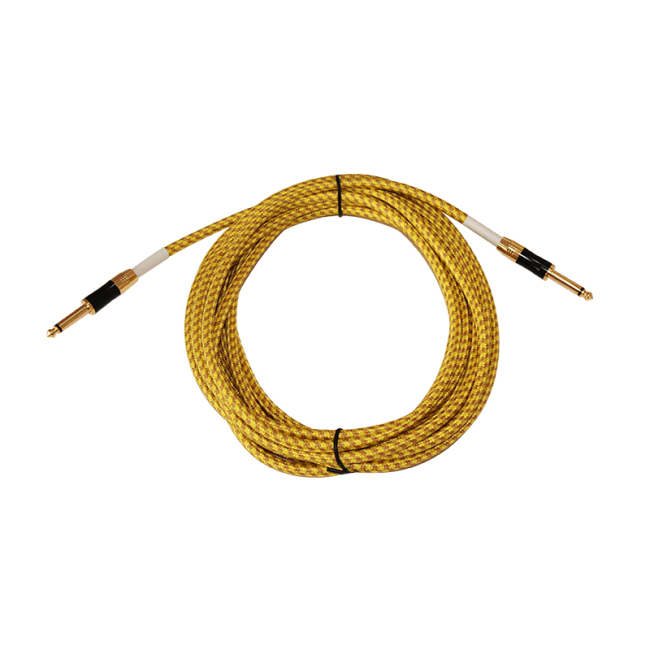 Accept customization 6.35mm plug guitar cable OFC DD 6.6mm instrument cable guitar