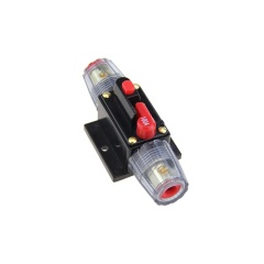 Waterproof Auto power cable Nickel plated fuse holder