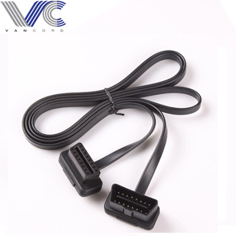 16Pin OBD 2 OBD ii connector automotive diagnostic extension Y Cable
