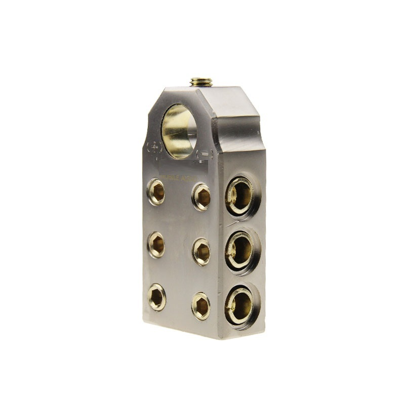 0/4 Gauge auto Battery Terminals car battery terminals with Shims - Positive and Negative (+/-)