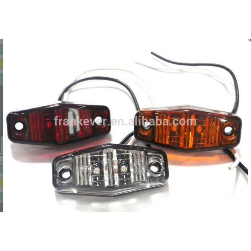 10-30V Diamond Shaped LED Piranha Truck Pickup Trailer Trailer Side Marker Light