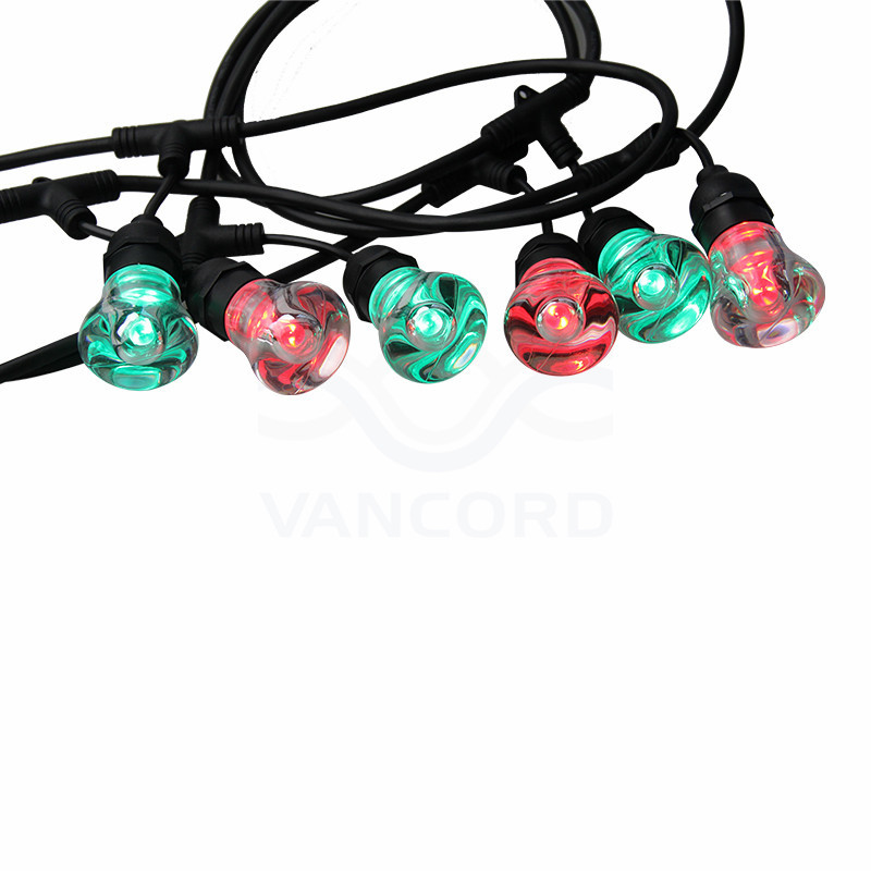 2019 NEW PRODUCT smart copper wire led string light with crystal bulb