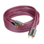 2020 New style 4 shielding 2R audio video rca cable