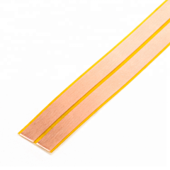HXFL20120WS White PE adhesive cooper low voltage 2 cores flat speaker cable wire LED light power cable