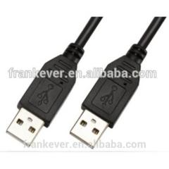 HIGH QUALITY COPPER CONDUCTOR USB2.0 AM TO 2.0 AM USB CABLE