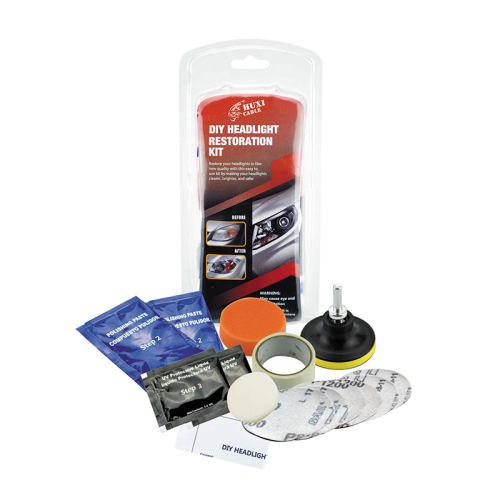 Heavy Duty DIY Auto Car Headlight Restoration Kit