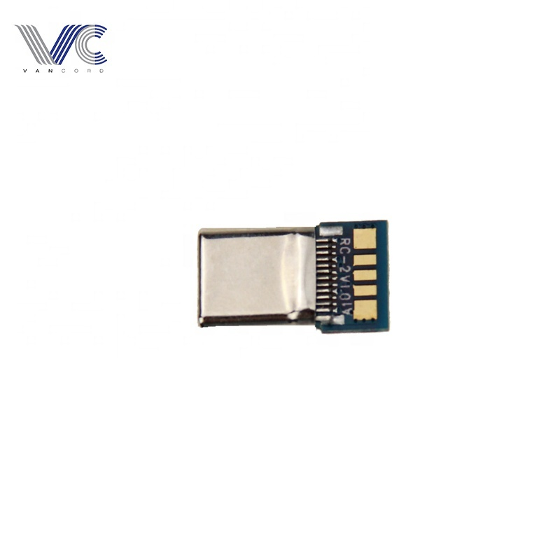 Wholesale prices usb c type  plating male connector