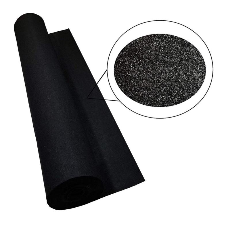 Gray color Wholesale high quality non-woven carpet for speaker box