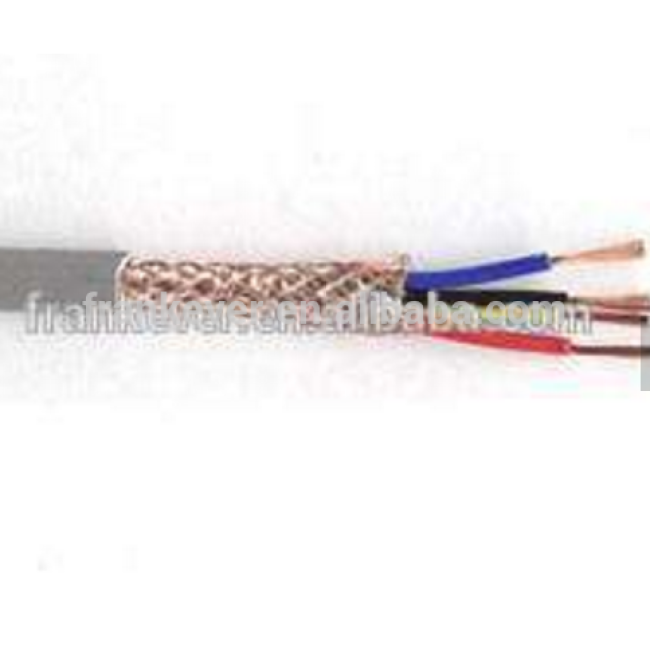 4 cores Cu braided straight speaker wire