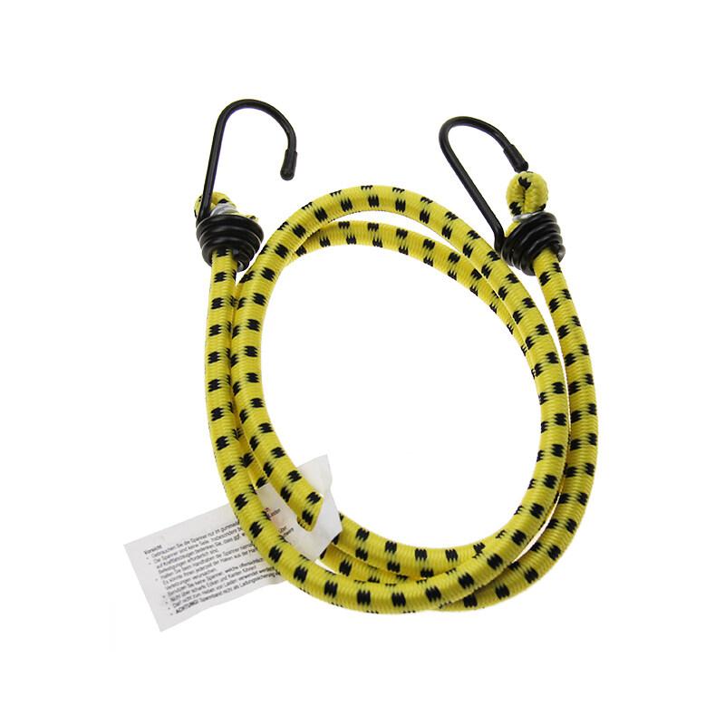 Elastic Wear-Resistant Braided Cord Luggage Cart Plastic Hook Rubber Rope