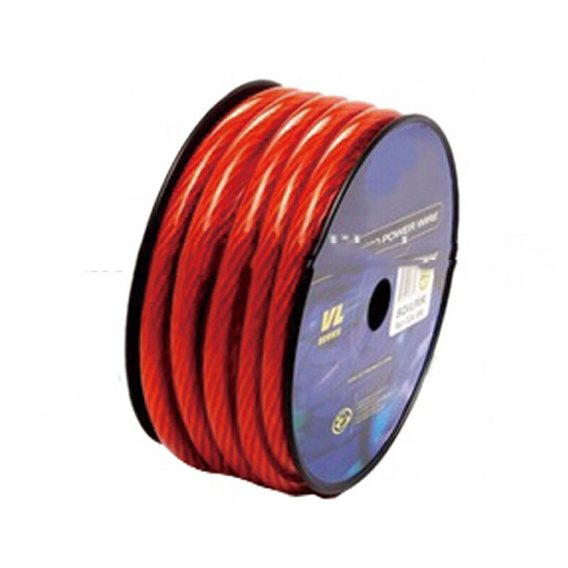 Frost and flexible car audio video 8 AWG battery cable car battery cables