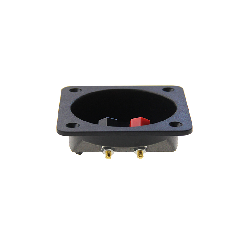 Car Stereo 2 Way Speaker Box Terminal Binding Post Round Screw Cup