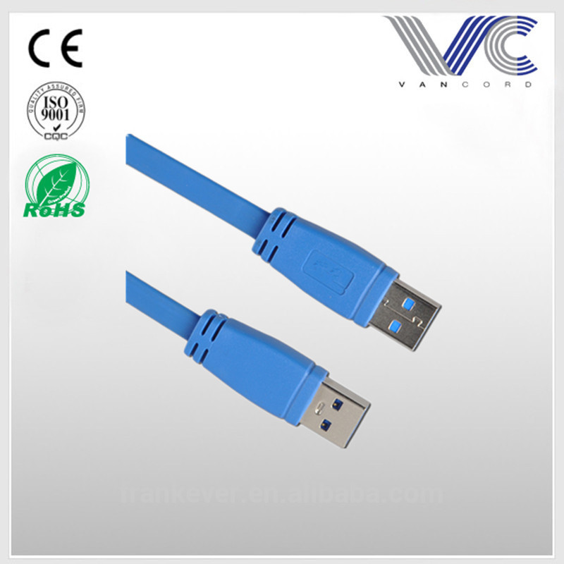 High Quality USB 3.0 Cable A Male to A Male Connector Made in China