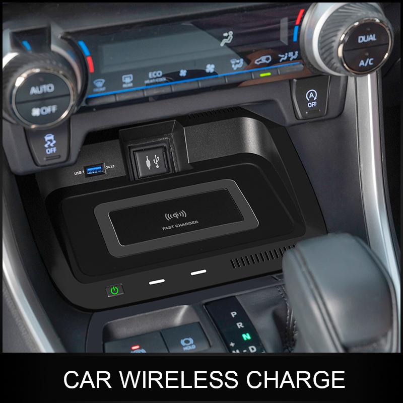 Wireless Car Charger Armrest Box Special Mobile Phone Wireless Fast Charge For Toyota Rav4 Rongfang Willanda
