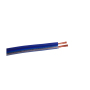 High end 2 cores blue frosted car speaker cable