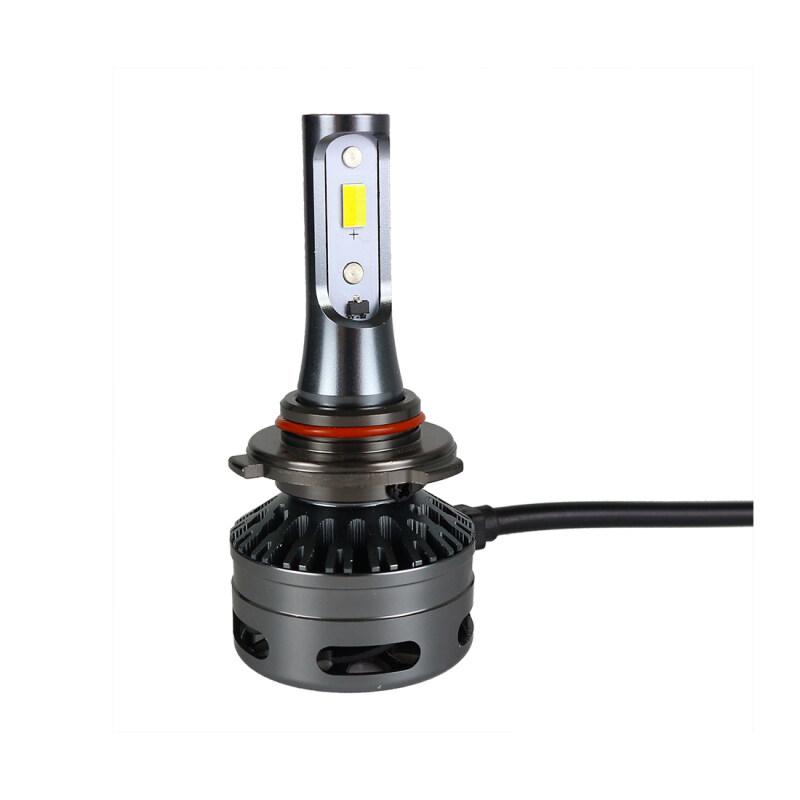 Tri-color E9 LED Headlight H1 H7 H8/H11 9005/9006 9012 Three Color Five Function Car Headlight 3300K 5500K 6K