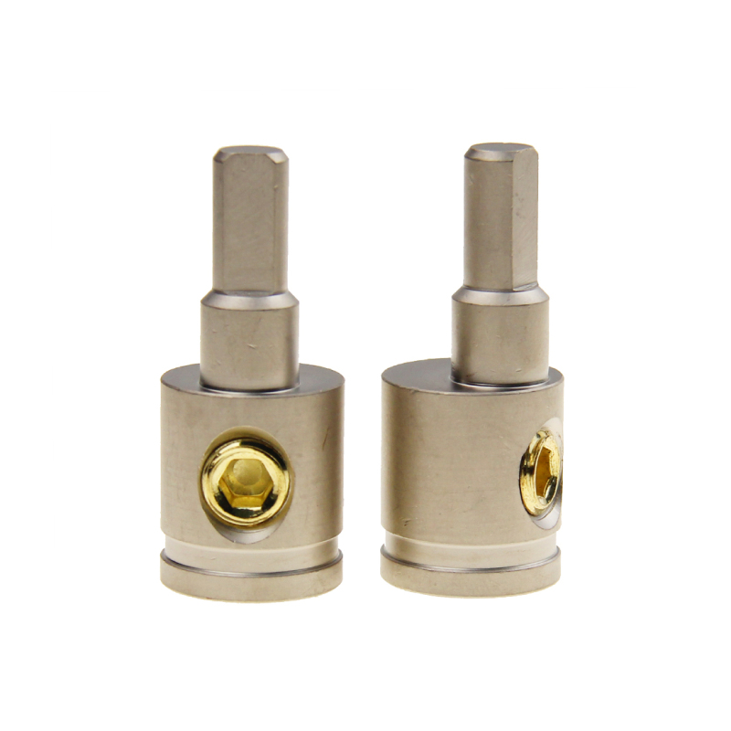Cable terminal for speaker cable power cable amp kit