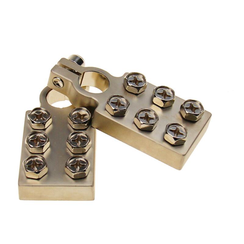 6 ways battery terminal fit with power cable 0GA/2GA/4GA/6GA/8GA/10GA
