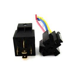 relay 12V 40A mini auto relay with socket