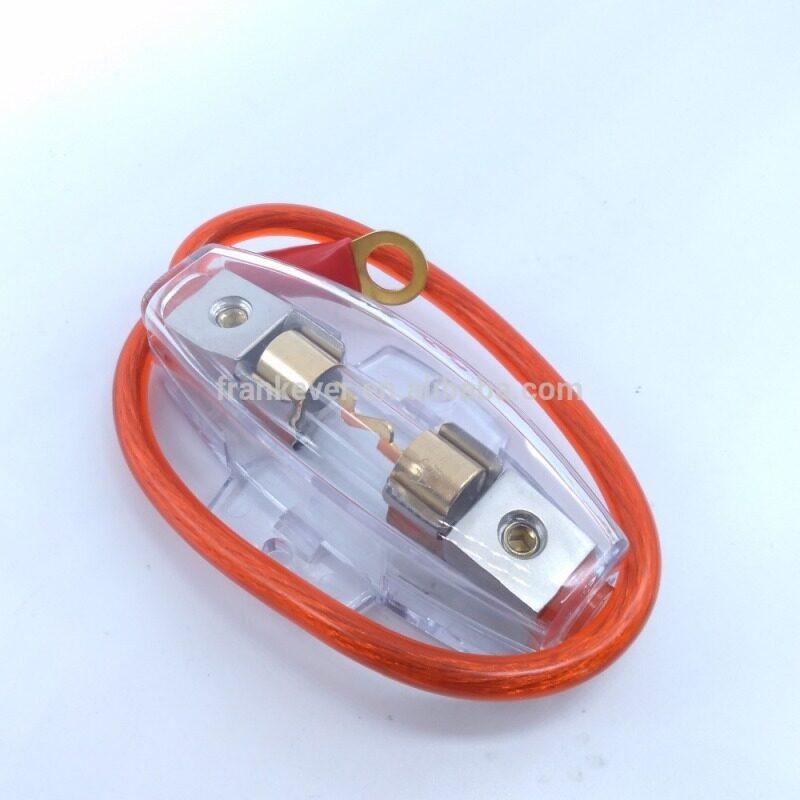 AGU type auto fuse box car audio fuse box with power cable
