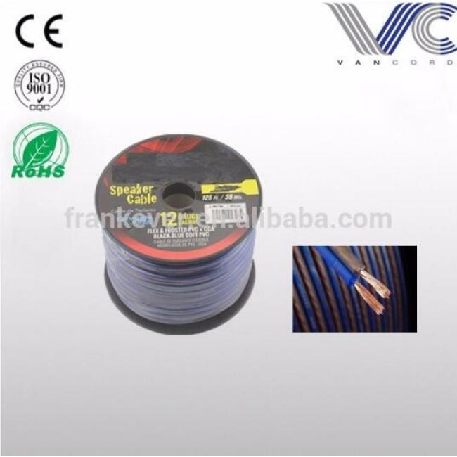 Hot sale high end 10awg car audio speaker wire cable