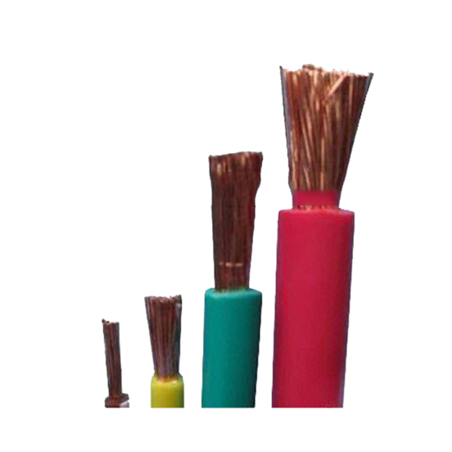 PVC Single core out door copper electrical cable made in China