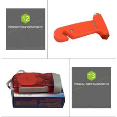 Portable car emergency roadside kit 15PCS car emergency tools kit emergency car kit