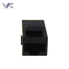 RJ45 Female to Female UTP CAT6 Keystone inline Coupler,Black