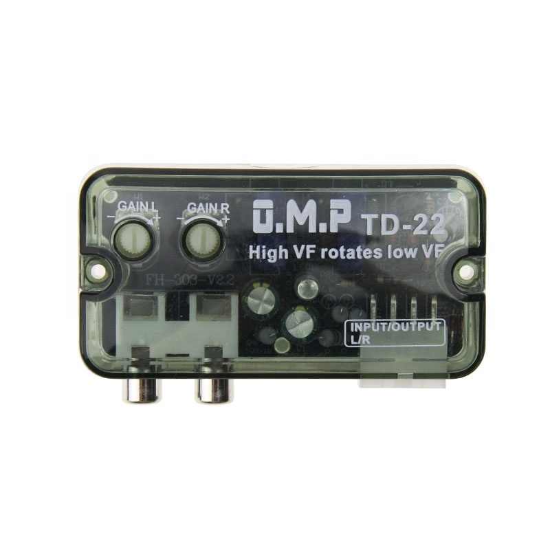 New High Level Speaker Signal to Low Level Line Out Converter