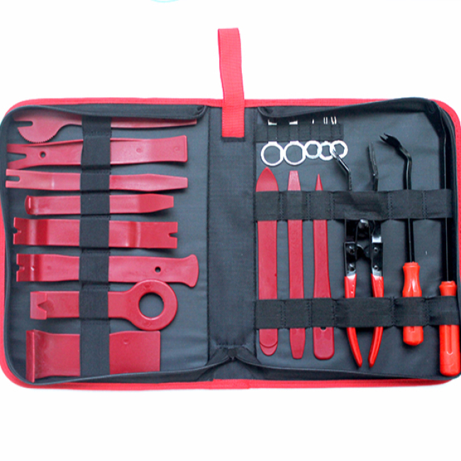 New Zipper Packaging 19 Pcs/Set Nylon+POM High Quality Car Audio Disassembly Tool
