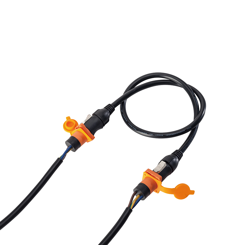 new Arrival IP65 waterproof powercon cable dmx