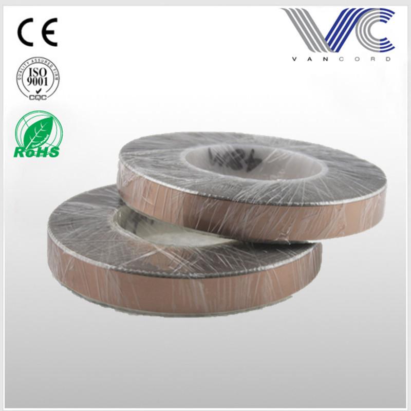 OFC Conductor Flexible Flat power cable with Adhesive Layer