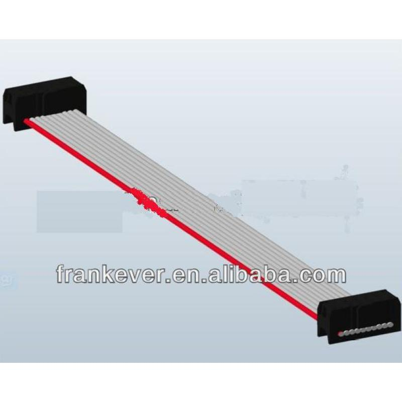 10 pin pvc flexible flat cable, 28awg flat ribbon cable flat ribbon cable for computer