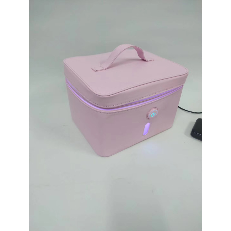 Personal Protection Polyester Fabric LED UV Sterilizer Storage Package For Mask Bottle