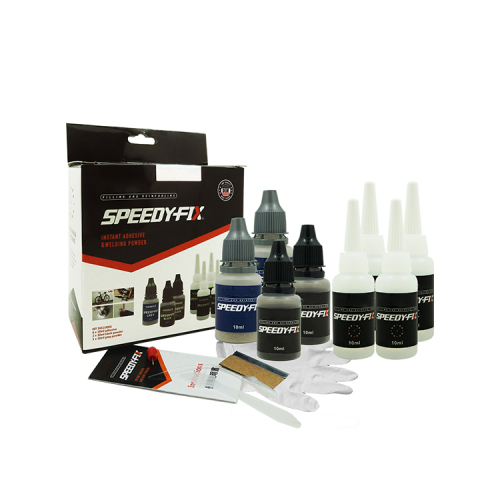 Grey/Black/Clear Color Magic Glue Speed Fix