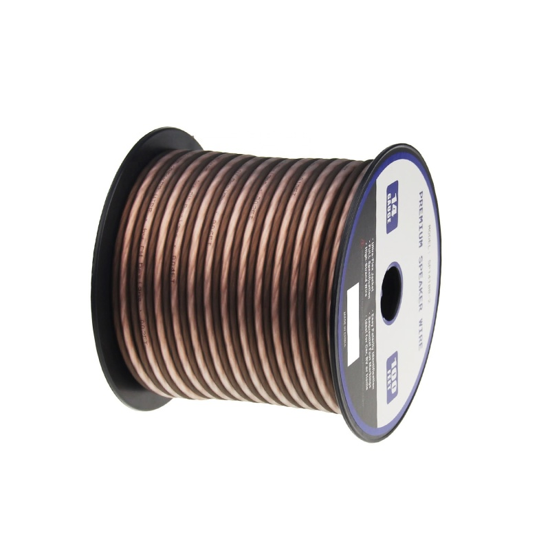 High quality 100FT 14 AWG speaker cable,speaker wire cable