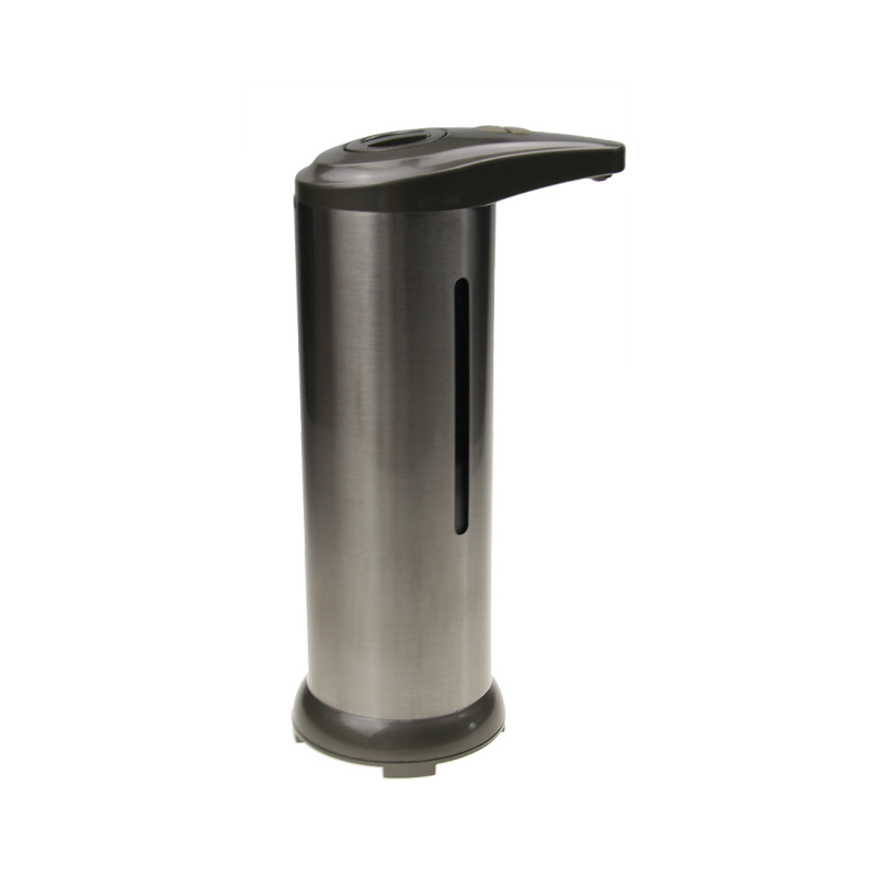 Factory Low Price Stainless Steel Infrared Motion Automatic Soap Dispenser with Waterproof Base