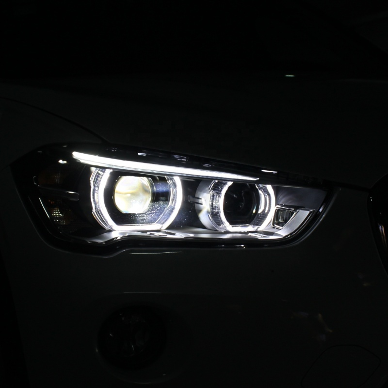 Car headlight assembly for 16-19 Model BMW X1 LED Headlight