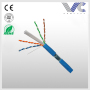 Solid BC conductor duplex FTP CAT6 network cable