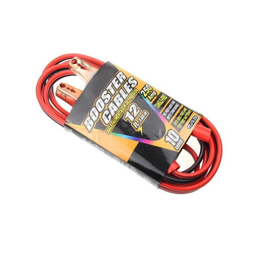 Automobile emergency car jump starter battery booster jump starter cables